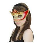【コスプレ】 RUBIE'S(ルービーズ) ACCESSORY(アクセサリー) マスク(コスプレ) Domino Mask - Red(ドミノ マスク レッド)