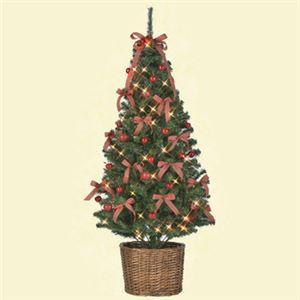 【クリスマス】セットツリー アップル バスケット付き 150cm