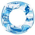 【ビーチグッズ】浮輪55cm ブルービーチ
