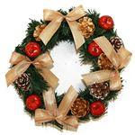 【クリスマス】リース シック 20cm