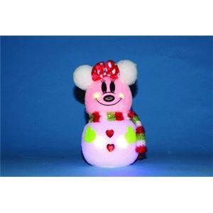 【クリスマス】雪わた スノーマン ミニー