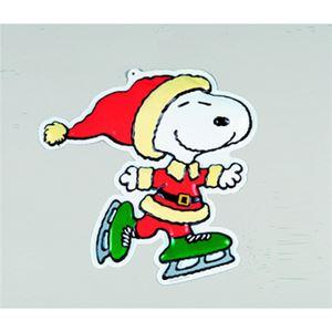 【クリスマス】スヌーピー ウォールデコ スケート