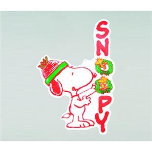 【クリスマス】スヌーピー ウォールデコ リースを飾ろう