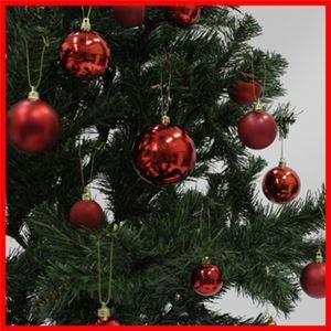 【クリスマス】プラボールセット35ヶ入レッドmix