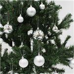 【クリスマス】プラボールセット35ヶ入シルバーmix