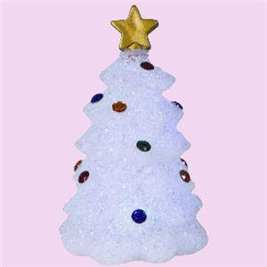 【クリスマス】LED EVAツリー 21cm