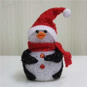 【クリスマス】LED EVAペンギン 14cm