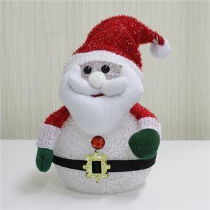 【クリスマス】LED EVAサンタ 17cm