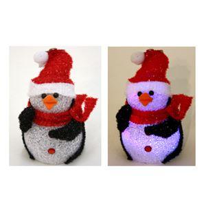 【クリスマス】LED EVAペンギン 17cm