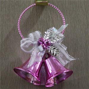 【クリスマス】メタルドアベル ダブル ピンク