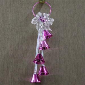 【クリスマス】メタルドアベルクラスター ピンク