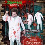 コスプレ衣装/コスチューム 【Docter ゾンビドクター】 ポリエステル 『ZOMBIE COLLECTION Zombie』 〔ハロウィン〕