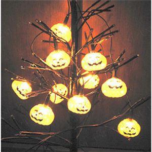 パンプキンライト/ハロウィン用品 【10 Light Shining Pumpkin】 単三電池 〔イベント コスプレ〕