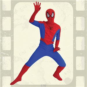 コスプレ衣装/コスチューム 【Adult 大人用】 ポリエステル スパイダーマン 『Spiderman』 〔ハロウィン イベント〕