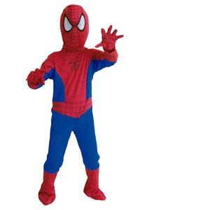 コスプレ衣装/コスチューム 【Child Mサイズ 子供用】 ポリエステル スパイダーマン 『Spiderman』 〔ハロウィン イベント〕