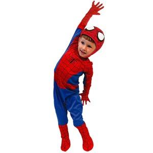 コスプレ衣装/コスチューム 【Kids Todサイズ 子供用】 ポリエステル スパイダーマン 『Spiderman』 〔ハロウィン イベント〕