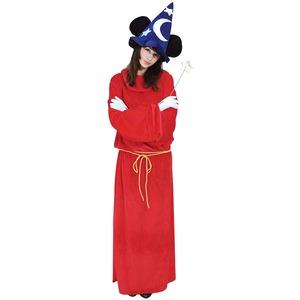 コスプレ衣装/コスチューム 【Adult Micky Mouse Fantasia ミッキーファンタジア】 大人用 〔ハロウィン イベント〕