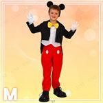 ディズニーコスプレ/コスプレ衣装 【Child Mickey M ミッキーマウス】 子供用 〔ハロウィン イベント〕