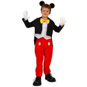 コスプレ衣装/コスチューム 【Child Mickey L ミッキーマウス】 子供用 〔ハロウィン イベント〕