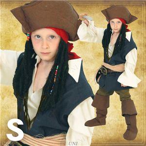 ディズニーコスプレ/コスプレ衣装 【Child Jack Sparrow S ジャックスパロウ】 子供用 〔ハロウィン イベント〕