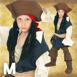 ディズニーコスプレ/コスプレ衣装 【Child Jack Sparrow M ジャックスパロウ】 子供用 〔ハロウィン イベント〕
