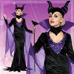 ディズニーコスプレ/コスプレ衣装 【Adult DX Maleficent マレフィセント】 大人用 〔ハロウィン イベント〕