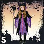 ディズニーコスプレ/コスプレ衣装 【Child Maleficent S マレフィセント】 子供用 〔ハロウィン イベント〕