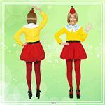 ディズニーコスプレ/コスプレ衣装 【Adult Tweedledum トゥイードル・ダム】 大人用 〔ハロウィン イベント〕