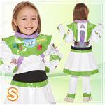 ディズニーコスプレ/コスプレ衣装 【Child Buzz Lightyear For Girl S バズライトイヤー】 子供用 〔ハロウィン イベント〕