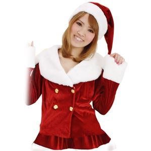 【クリスマスコスプレ 衣装】Patymo ドリーミングサンタ(無地)
