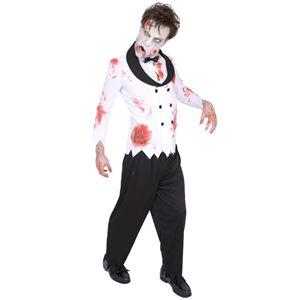 コスプレ衣装/コスチューム 【Bridegroom ゾンビ花婿】 ポリエステル 『ZOMBIE COLLECTION Zombie』 〔ハロウィン〕