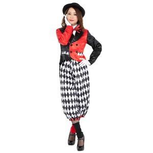【コスプレ】CLUB QUEEN Joker Clown lady(ジョーカークラウンレディ)