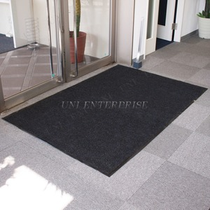 Funderful 業務用玄関マット(屋内用) 120×180cm ブラック