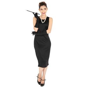 CLUB QUEEN Black dress(ブラックドレス)【 コスプレ 衣装 コスチューム ハロウィン 大人用 女性用 】