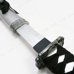 コスプレ衣装/コスチューム 【日本刀DX 銀装飾 銀 100cm】 木製 『Uniton』 〔イベント パーティ〕