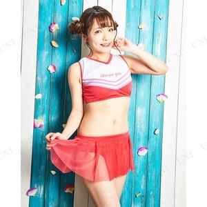 コスプレ水着/コスチューム 【Cheerleader(チアリーダー)】 レディース 『Coswim』 〔フェス イベント ライブ〕