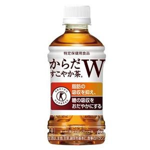 【まとめ買い】コカ・コーラ からだすこやか茶W (特定保健用食品/トクホ飲料) 350ml×24本(1ケース) ペットボトル