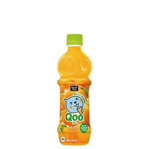 【まとめ買い】コカ・コーラ ミニッツメイド Qoo(クー) わくわくオレンジ ペットボトル 470ml×24本(1ケース)