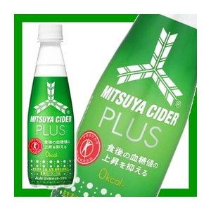 【まとめ買い】アサヒ 三ツ矢サイダー プラス(特定保健用食品) ペットボトル 350ml×24本(1ケース)