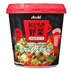 【まとめ買い】アサヒフーズ おどろき野菜 ユッケジャンチゲ 24カップ入り(6カップ×4ケース)