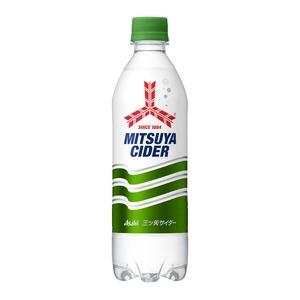 【まとめ買い】アサヒ 三ツ矢サイダーピュアボトル ペットボトル 500ml×24本(1ケース)