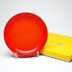 ル・クルーゼ (Le Creuset)  ラウンドプレート・LC 19cm オレンジ
