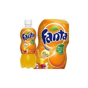 【まとめ買い】コカ・コーラ ファンタ オレンジ ペットボトル 500ml×48本【24本×2ケース】