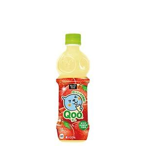 【セット販売】コカ・コーラ ミニッツメイド Qoo(クー) わくわくアップル ペットボトル 470ml×48本【24本×2ケース】