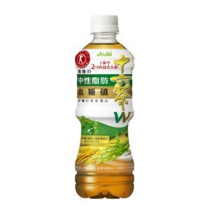 【まとめ買い】アサヒ 食事と一緒に十六茶W(ダブル) ペットボトル 500ml×48本(24本×2ケース)【特定保健用食品/トクホ飲料】