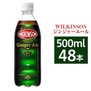 【まとめ買い】アサヒ ウィルキンソン ジンジャエール ペットボトル 500ml×48本【24本×2ケース】
