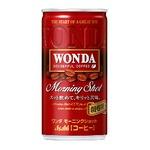 【まとめ買い】アサヒ ワンダ モーニングショット 缶 185g×60本入り【30本×2ケース】
