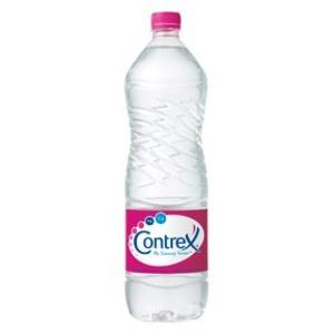 【まとめ買い】ポッカサッポロ コントレックス (ナチュラルミネラルウォーター) ペットボトル 1.5L×12本入り(1ケース)