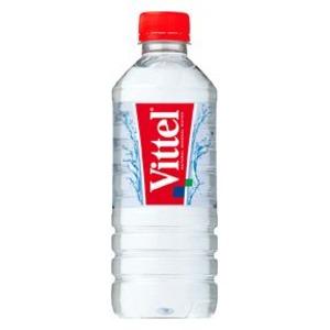 【まとめ買い】ポッカサッポロ ヴィッテル(Vittel) ナチュラルミネラルウォーター ペットボトル 500ml×48本入り【2ケース】