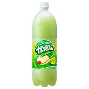 【まとめ買い】ポッカサッポロ がぶ飲み メロンクリームソーダ 1.5L ペットボトル 8本入り(1ケース)